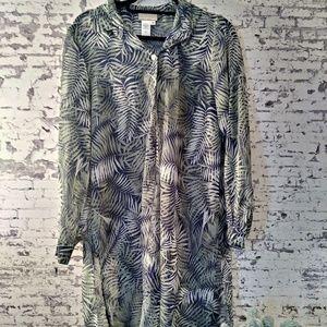 Womans button camisole